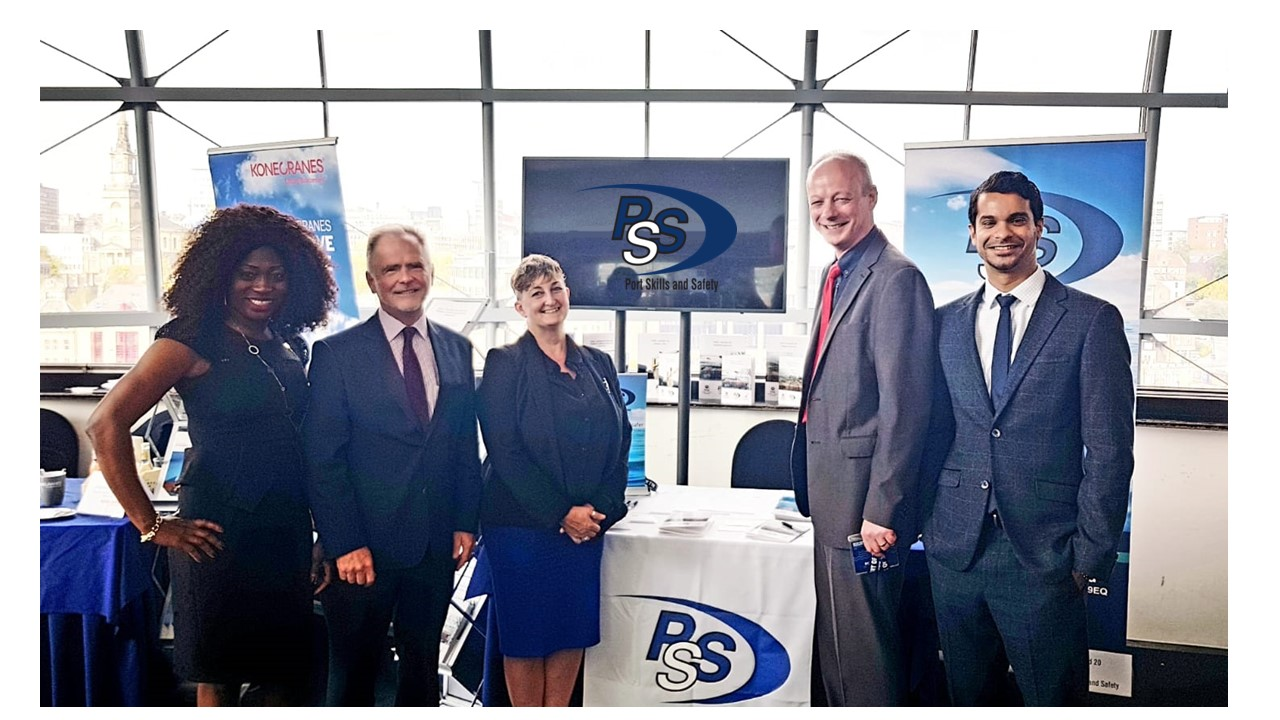The PSS team at the British Ports Association held in Newscastle